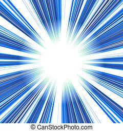 bleu, résumé, vortex