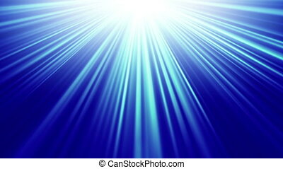 bleu, rayons, lumière, seamless, fond, boucle