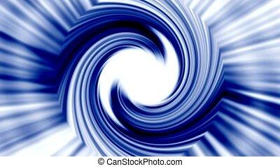 bleu, rotation, métal, turbine