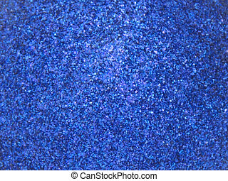 bleu, scintillement, profond