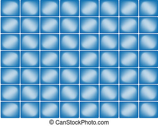 bleu, seamless, fond
