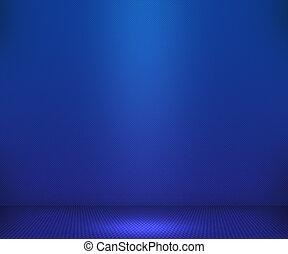 bleu, simple, projecteur, fond