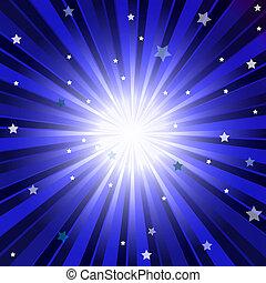 bleu sombre, résumé, fond