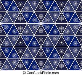 bleu, taché, menuiserie, eps10., -, seamless, illustration, fenêtre verre, vecteur, verre., fond, 3d., dessin