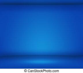bleu, tache, vide, fond