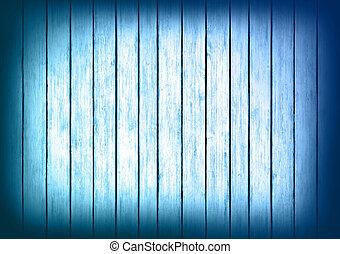 bleu, texture, bois, conception, fond, panneaux