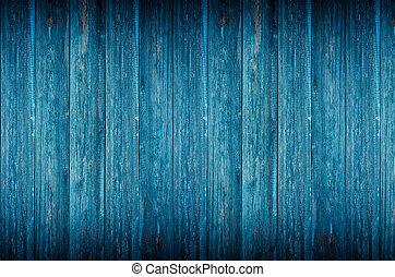 bleu, texture bois, fond