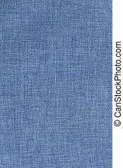 bleu, tissu, naturel, arrière-plan.
