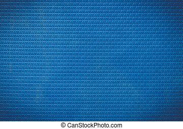 bleu, usage, plancher, modèle, caoutchouc, accélérez bateau