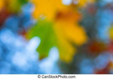 bleu, vert jaune, texture, fond, barbouillage