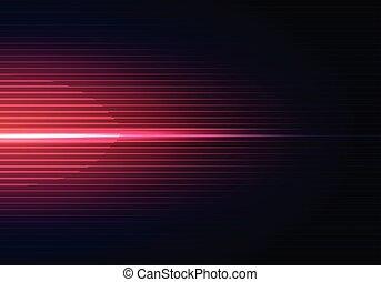 bleu, wallpaper., lumière, résumé, lignes, fond foncé, modèle, horizontal, ombre, rouges