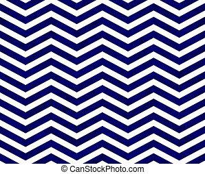 bleu, zigzag, tissu, fond, textured