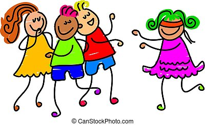 blind mans buff - children playing party games - toddler art...