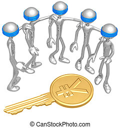 Blind To Yen Coin Key