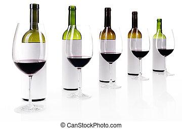 blind, witte wijn, proeft