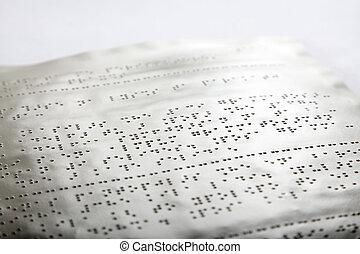 blindenschrift, methode