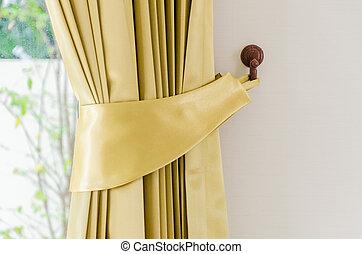Blinds curtain interior window