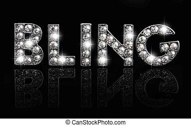 bling, nero