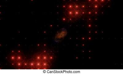 Blinking Lights background.