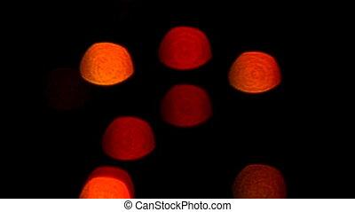 blinking lights loop background