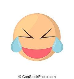 blinzelnd, ausdruck, weinen, emoji
