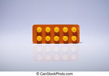blist, pillerne