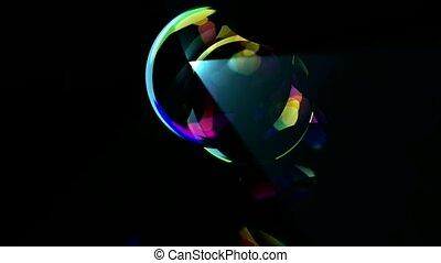 blister,ray light,glass ball
