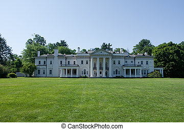 Blithewood Manor, at Bard College houses the Economics...