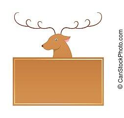 Blixen Reindeer Christmas Character