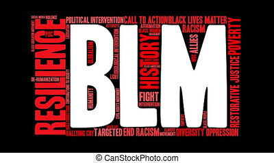 BLM Word Cloud