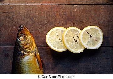 Bloater And Lemon