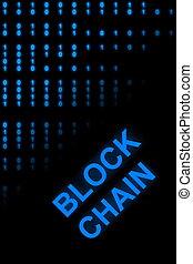 bloc, chaîne