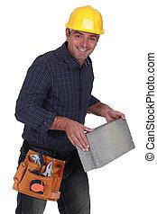 bloc structurel, maçon