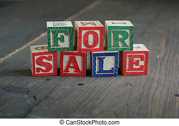blocchetti legno, vendita