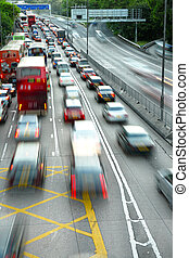 blocco traffico