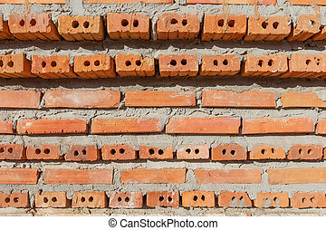 Block brick wall