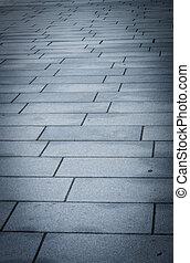 Block concrete floor pattern 3