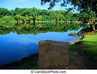 Block From the Coosa - View of the Coosa River from Gold...