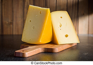 block of edam cheese