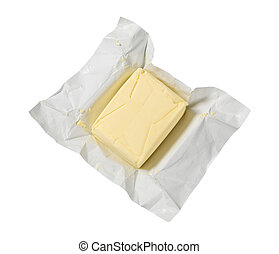 block of fresh butter