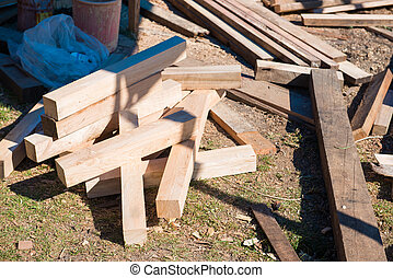 block of wood for create furniture