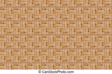 Block Pattern Stacked Blocks Of Boards With A Natural Eco Rustic Theme Base