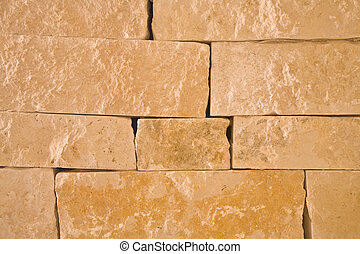 Block stone wall for background