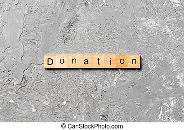 block., tavola, parola, testo, concetto, legno, scritto, donazione