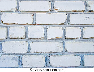 block wall. Old concrete block wall background and texture