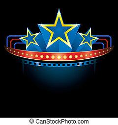 blockbuster, estrelas