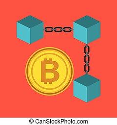 blockchain bitcoin currency crypto digital