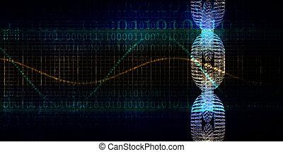 Blockchain Technology or Block Chain Technologies Concept