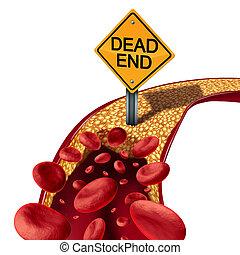 Blocked Artery Medical Concept