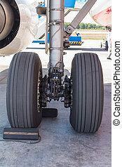 blocked landing gear